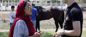 ترکتازی اسب خوش رکاب بازیگر زن روی بیلبوردهای رایگان؟!